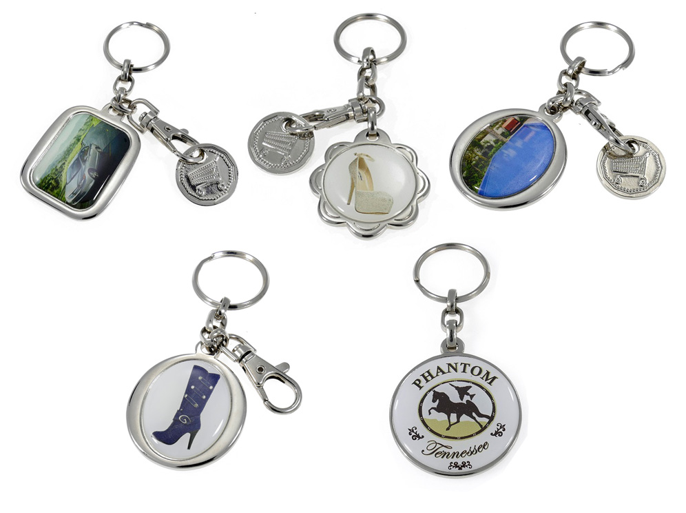 מחזיק מפתחות מתכת מיתוג צבעוני
