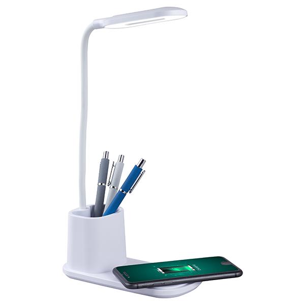 מנורת שולחן משולבת מטען