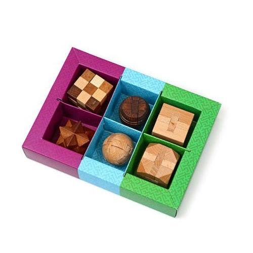 סט 6 משחקי חשיבה עץ