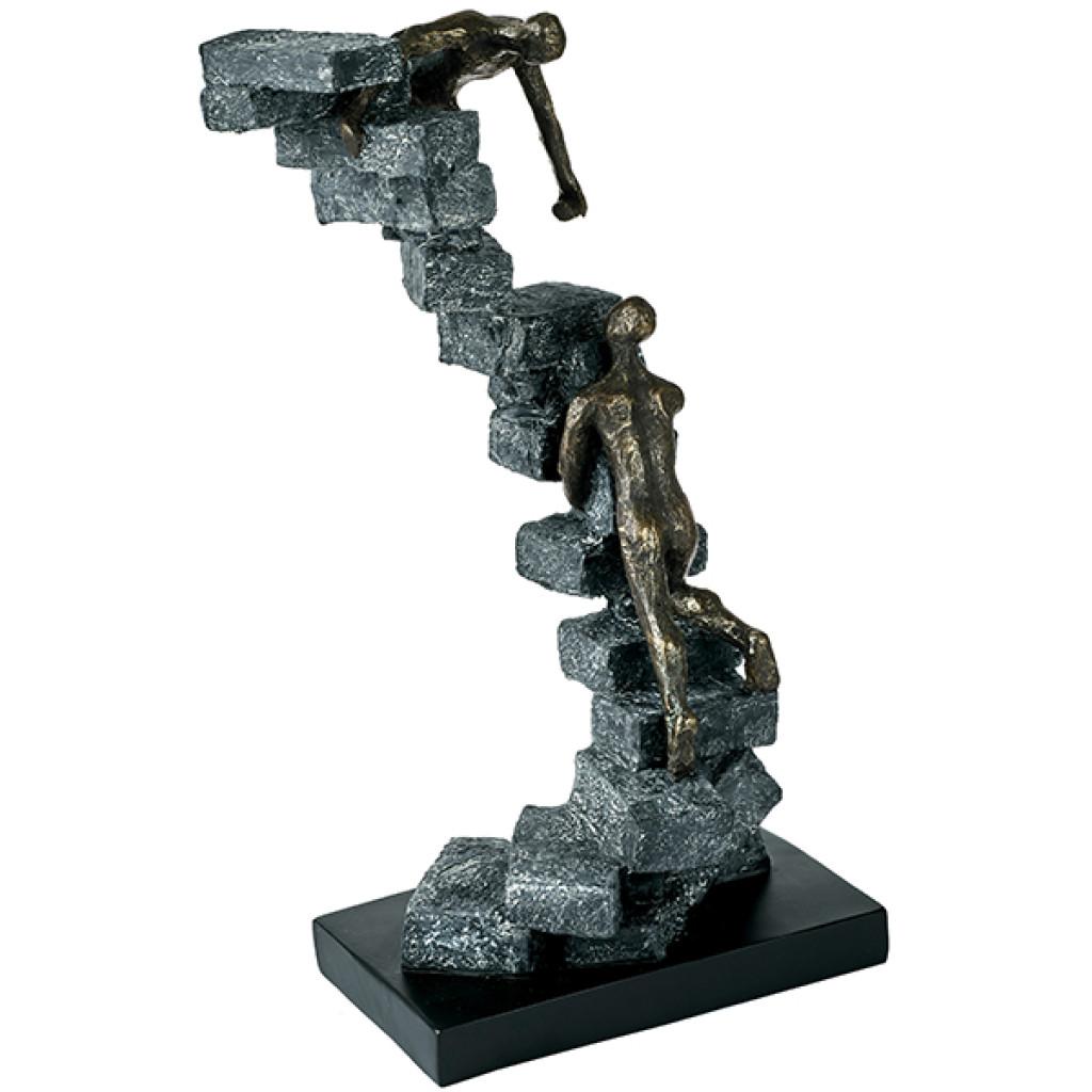 פסל אומנותי דבקות במטרה
