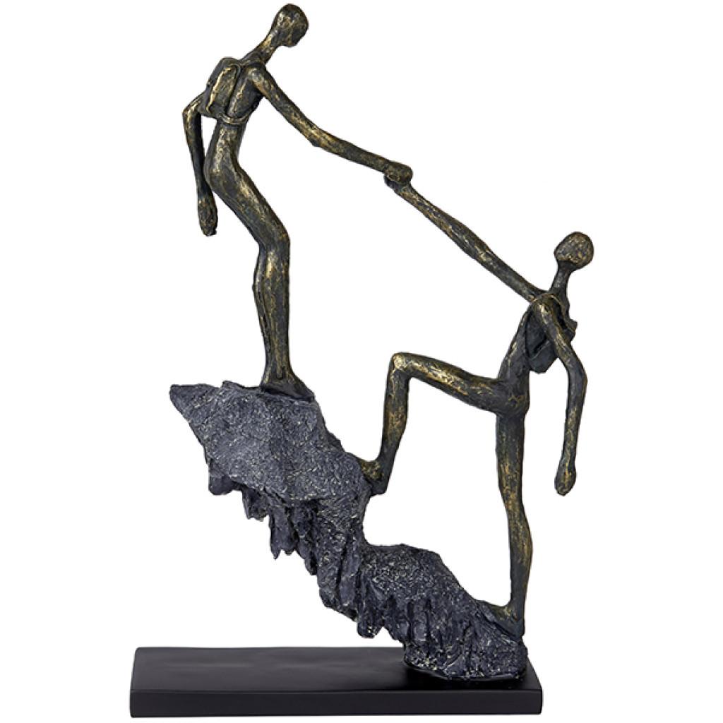 פסל אומנות עזרה הדדית