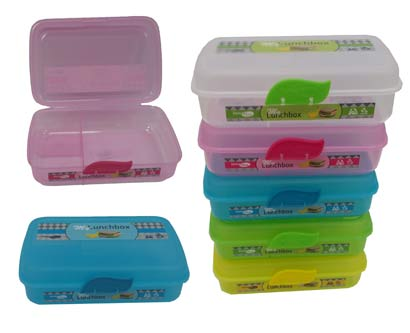קופסת אוכל  +סגר מחולק תאים