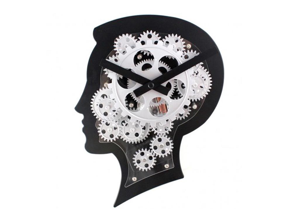 שעון קיר האיש החושב