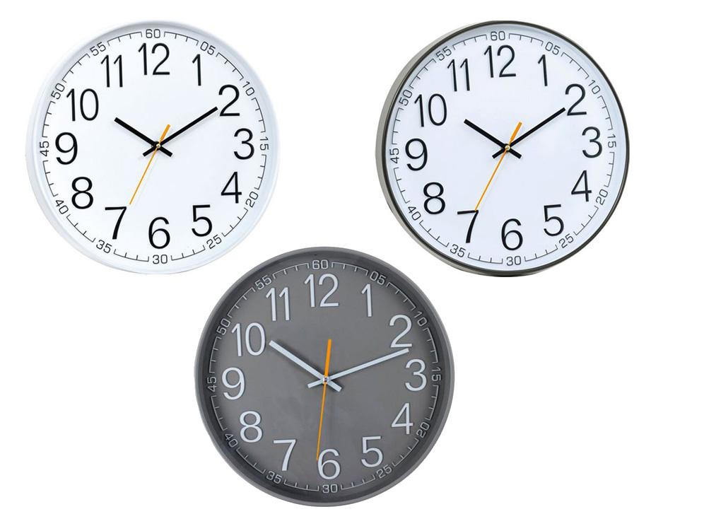 שעון קיר קוטר 36