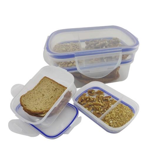 קופסת אוכל פלסטיק