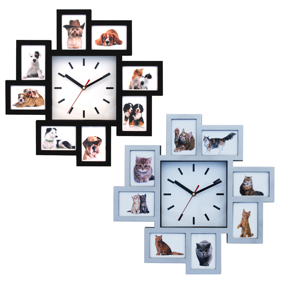 שעון קיר מקום לתמונות