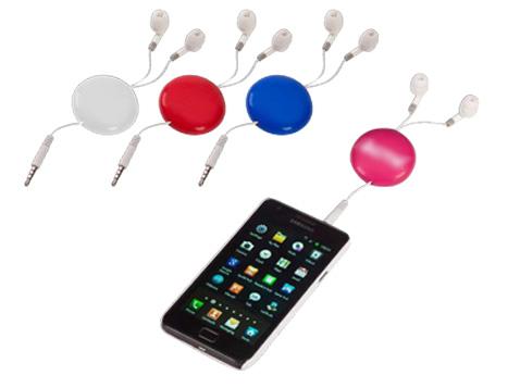אוזניות לנגנים וטלפונים סלולרים