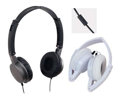 אוזניות עם מיקרופון סינגר