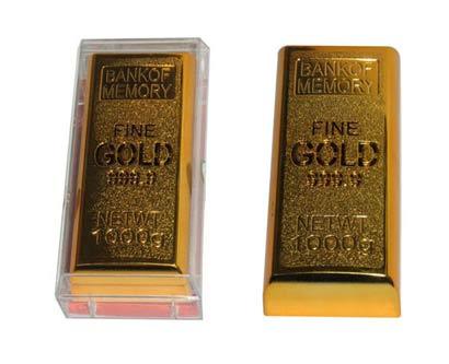 רמקול בצורת מטיל זהב