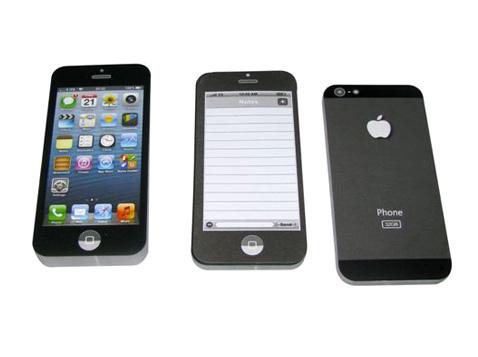 דפי ממו בצורת אייפון