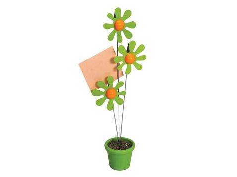 מעמד פרחים לניירות ממו