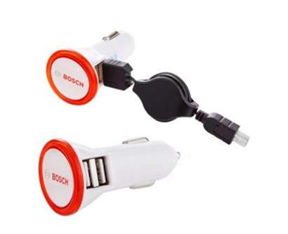 מעביר מתח USB לרכב 2 כניסות