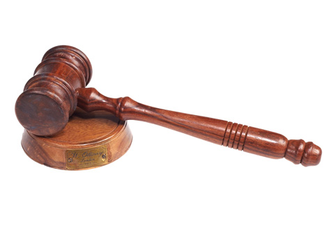 פטיש שופטים מעץ