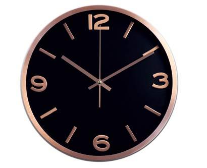 שעון קיר מידנייט נחושת