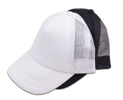 כובע רשת ראפר צבע מלא