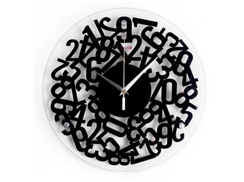 שעון קיר מעוצב בלאגן