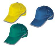כובע עם פס מחזיר אור