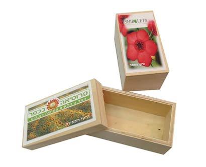 קופסת זרעים לגידול עצמי