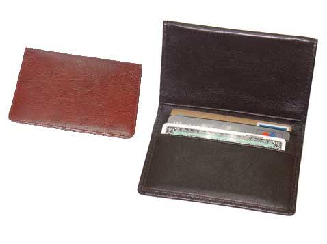 ארנק עור לכרטיסי אשראי