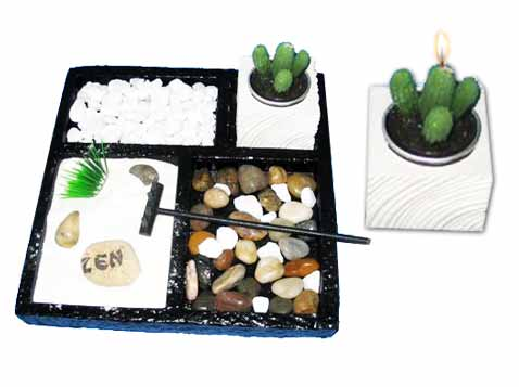 גן השלווה  4 תאים jardin zen