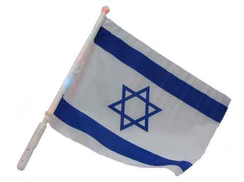 דגל ישראל עם תאורה
