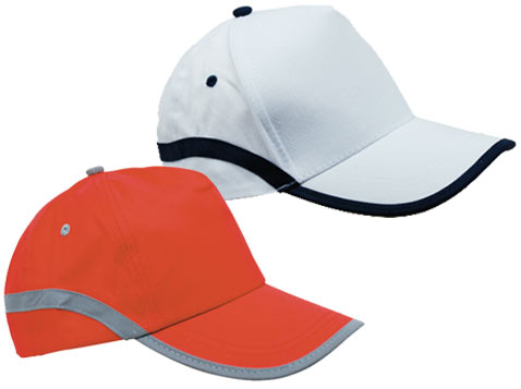 כובע עם פס