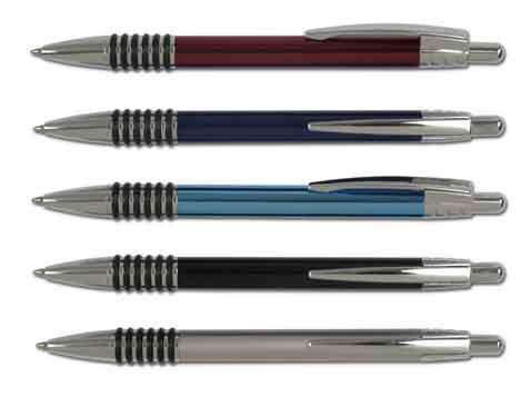 עט מתכת כדורי באולינג