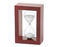 שעון חול מעץ 5 דקות